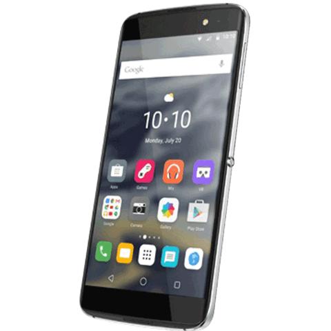 De BlackBerry DTEK60 heeft waarschijnlijk hetzelfde design als bovenstaande Alcatel Idol 4S